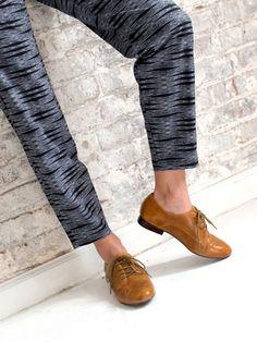 Miz Mooz: Hampton feauring Leather Upper Leather Lining Lace Up
