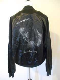 Vintage 80s 1980's Satin Elvis Presley by ATELIERVINTAGESHOP