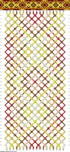 1 inch hexagon pattern  use the printable outline for