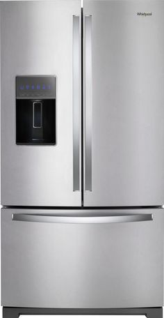 Shop Whirlpool 26.8 Cu. Ft. French Door Refrigerator Stainless steel at Best Buy. Find low everyday prices and buy online for delivery or in-store pick-up. Price Match Guarantee.