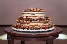Casamento Giovanna e Leonardo | Curitiba | Fotografia: Nos Olhos Teus | Fotógrafos de Casamento - bolo, naked cake, frutas vermelhas