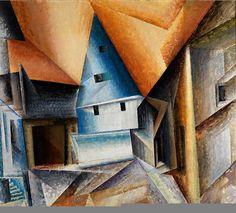 Lyonel Feininger 1871-1956 | American-born German Cubist/Expressionist painter