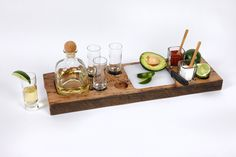 Tequila Buffet. Handcrafted from beams of wormy chestnut salvaged from dismantled barns and homes of the southern Appalachians. $95. Like?