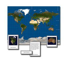 Giant Map w/ Nomenclature