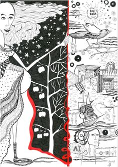Black And White Drawing, My Black, Finding Yourself, Quilts, Blanket, Drawings, Quilt Sets, Sketches, Blankets