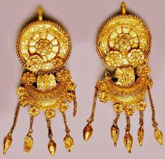Thracian jewelry,from Bulgaria 4th cent.BC