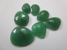 sale & ship free Natural Genuine Green Aventurian Rose by 8gemsinc, $20.00