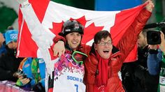 The Most Touching Moment of the Sochi Olympics   Alex Bilodeau and his brother . Frederic,celebrating the win in Sochi