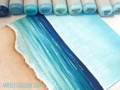 Creating Backgrounds with Markers | MyCreativeScoop