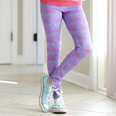 Girls Arrow NAME Lavender Arden Leggings