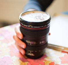 40 Unusually Creative Mugs - Coffee & Photography joined at last. @Melisha Stears Blair!