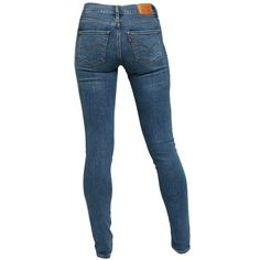 Levi's Blue Medium Wash 311 Shaping Skinny Jeans (€39) ❤ liked on Polyvore featuring jeans, pants, bottoms, blue, levi, mid wash jeans, slim cut jeans, denim skinny jeans, slim fit jeans and blue skinny jeans
