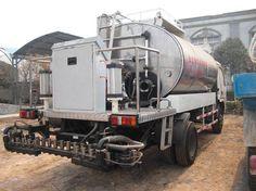 High degree of automation asphalt Sprinkle cloth car