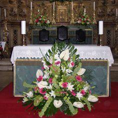 Flores para decoração de igreja - Compre as suas flores para decoração de igrejas , casamentos, funerais, flores para procissões
