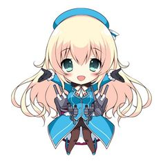 Anime chibi || anime girl