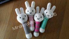 #haken, gratis patroon, Nederlands, baby, rammelaar, Nijntje, amigurumi, speelgoed, haakpatroon