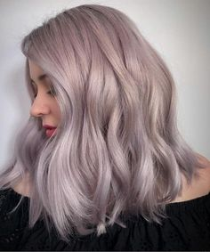 13 of the adorable ash blonde hair color ideas on medium thick hair for a . - 13 of the adorable ash blonde hair color ideas on medium-thick hair for a perfect look in 2019 - Lilac Hair, Burgundy Hair, Ombre Hair, Ash Purple Hair, Silver Lavender Hair, Brown Hair, Blonde Highlights On Dark Hair, Honey Blonde Hair, Medium Ash Blonde Hair