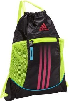 adidas Alliance Sport Sackpack Black Electricity Vivid Berry Samba Blue -  via eBags.com! 7a061d92a98c5
