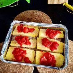 Tagged! Mio #marito ne inventa di #ricette #fit per #stupirmi ...  Millefoglie di #polenta con #prosciuttocrudo  e #funghiporcini .... ovviamente tutto nei #macros...  #fitchef #macro #iifymitalia #iifym #mangiarecongusto #mangiamo #mangiaresano #buono #sano #lowfat marcoringressitrainer.wordpress.com #ibombardinidellamore #cucinare