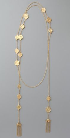 House of Harlow 1960 Coin Wrap Necklace