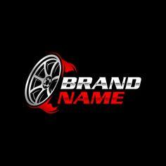 Automotive Logo, Automotive Design, Lettering Design, Branding Design, Logo Design, Wheel Logo, Tyre Shop, Banners, Service Logo