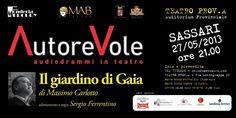 #Teatro: Il Giardino di Gaia di Massimo Carlotto a #Sassari