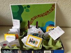 Nuestra máquina con sus tarjetas para crear cuentos :El sonido de la hierba al crecer