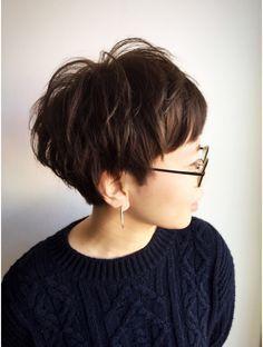 クブヘアー(kubu hair) 《Kubuhair》頭の形が綺麗に見えるコンパクトショート