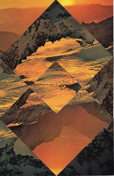 Collaged Landscape by Randy Grskovic