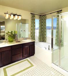 McArthur Homes Blog - Utah Homes.  should put curtain in my bath