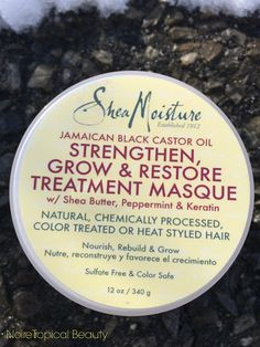 Love this masque! Great for natural hair or hair that wants a little extra TLC! #naturalhair #teamnatural @SheaMoisture4u.  Review on the blog!!!