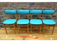 vintage retro 1960s dining chairs Middlesbrough Picture 1