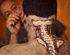 Zombie Spine Prosthetic Zombie prosthetics and accessories