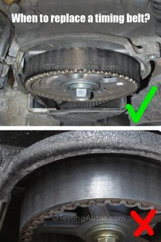 The replacement of a timing belt is one of the high-price maintenance items that many motorists have to deal with. How often does the timing belt need to be replaced? Mechanic Humor, Mechanic Shop, Mechanic Garage, Car Facts, Car Care Tips, Buy Classic Cars, Car Fix, Timing Belt, Car Cleaning