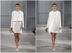civil ceremony dresses | ... dresses on the blog and the Monique Lhuillier Spring 2014 Bridal