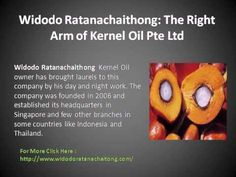 As an owner of kernel oil Pte Limited, Widodo Ratanachaitong enjoys the position of a very successful businessman. Under his presidency, the company has experienced… Palm Oil Benefits, Oil Industry, Crude Oil, Oil And Gas, Successful Business, Singapore, Asia, Life