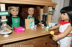Camp Doll Diaries � Stock the Doll Coffee Shop with Treats