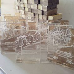 We create Acrylic plaque and trophy.... Laser cutting and engraving @ Php. 22 per minute vat inclusive  #acrylic #acrylicsign #acrylicchannelletters #lasercutting #laserengraving #monograms #engrave #acrylicdisplays #flexiglass #acrylicplaque #acrylictrophy #plaque #trophy by icre8_acrylics