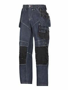 3355 Snickers Craftsmen's Denim Trousers Without Holster Pockets