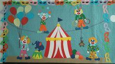 Circus bulletin board