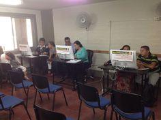 @Escolmeeduco Ahora matricularse es más fácil, nos encontramos en el aula 107 realizando matrículas por programas.