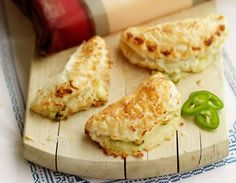 Cathedral City Mature Lighter Cheese and Jalapeño Empanadas