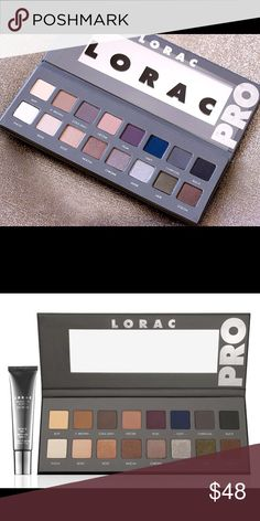 LORAC PRO 2 PALETTE Does not come with primer! And has been used a few times! Looking to either or sell or trade for another palette! Will post actual picture of palette in a little! This is authentic! NOT URBAN DECAY! Urban Decay Makeup Eyeshadow