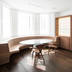 Established British Furniture Designers & Makers, William Garvey, serve the needs of leading architects, Brian Ma Siy and ABA International Architects,. Glass Stairs, Interior And Exterior, Interior Design, Wide Plank Flooring, Reception Rooms, Home Renovation, Furniture Design, Bespoke Furniture, Architecture Design