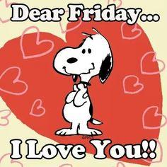 Snoopy Fridays!