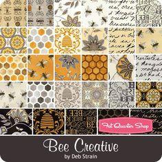 Bee Creative - Deb Strain for Moda Fabrics. I need this in my life ♡