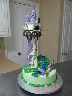Cake Central Tangled Cakes | Rapunzel Cake