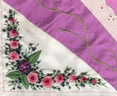 Brazilian embroidery - roses