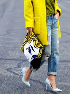 If you love yellow but are not sure how to work it into your wardrobe, try adding one signature element. www.stylestaples.com.au