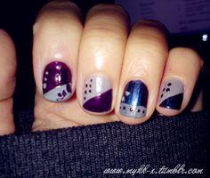 natural nail nail art